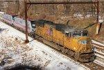 UP 4912, SEPTA 904, 905 on CSX W991